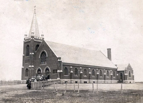 St. Eloi Catholic Church, Ghent Minnesota,1904