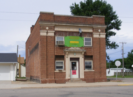 Former Farmers State Bank building, Ghent Minnesota, 2011
