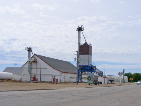 Feed mill and grain elevator, Ghent Minnesota, 2011
