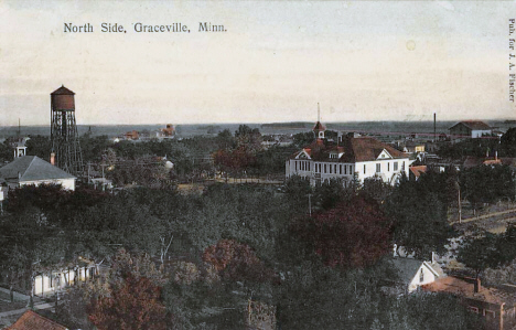 North Side, Graceville Minnesota, 1908
