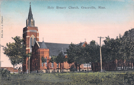 Holy Rosary Church, Graceville Minnesota, 1910