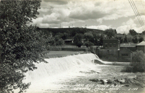 Dam and Power Plant, Granite Falls Minnesota, 1940's