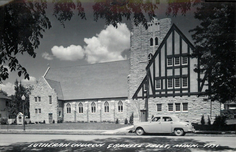Lutheran Church, Granite Falls Minnesota, 1950's