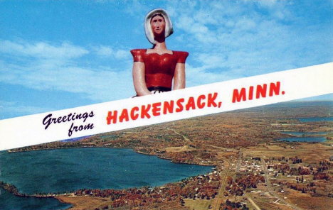Greetings from Hackensack Minnesota, 1960's