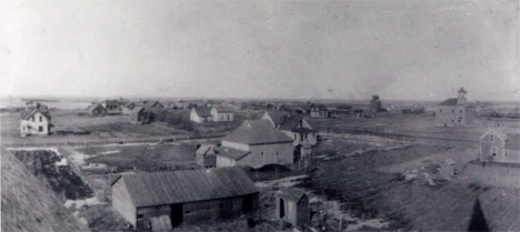 General view, Hadley Minnesota, 1908