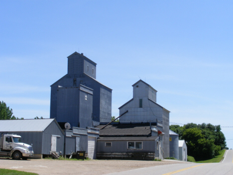 Grain elevators, Hadley Minnesota, 2014