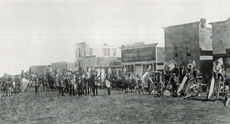 Independence Day celebration, Hanska Minnesota, 1903