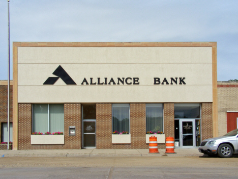 Alliance Bank, Hanska Minnesota, 2014