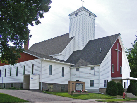 Zion Lutheran Church, Hanska Minnesota, 2014