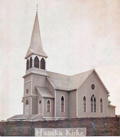 Lake Hanska Lutheran Church, Hanska Minnesota, 1904