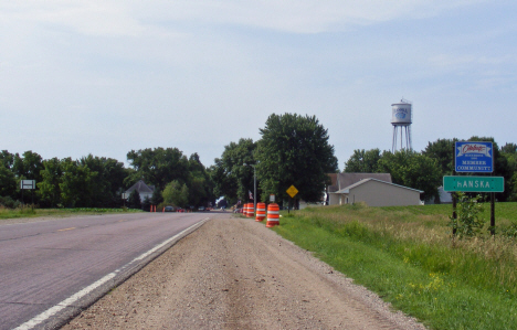 Edge of town, Hanska Minnesota, 2014