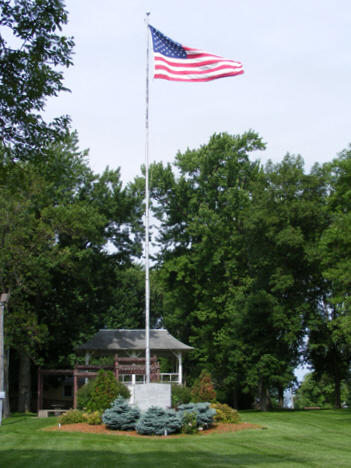 World War I Memorial, Hanska Minnesota, 2014