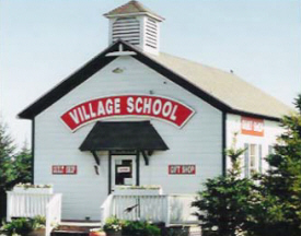 Village School Quilt Shop, Harmony Minnesota