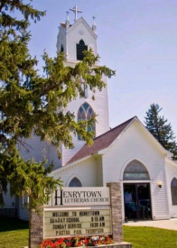 Henrytown Lutheran Church, Harmony Minnesota