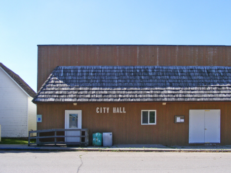 City Hall, Hazel Run Minnesota, 2014