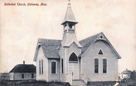 Methodist Church, Holloway Minnesota, 1911