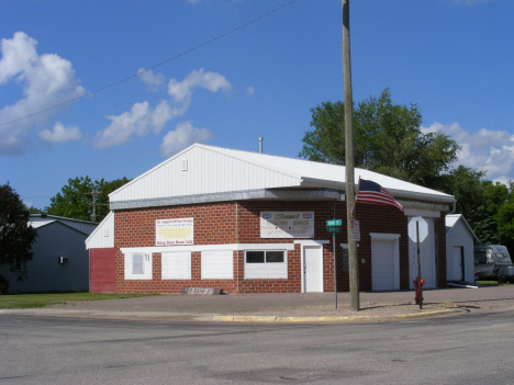 Former Standard station, Holloway Minnesota, 2014