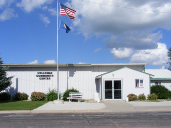 Holloway City Hall, Holloway Minnesota