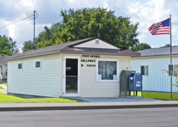 US Post Office, Holloway Minnesota