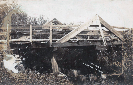Bridge, Jasper Minnesota, 1910's