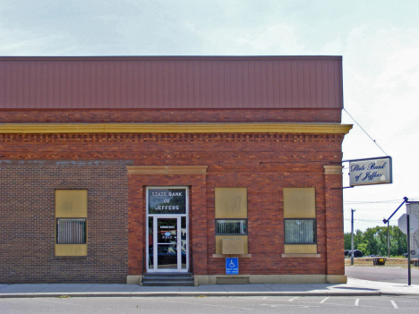 State Bank of Jeffers, Jeffers Minnesota, 2014