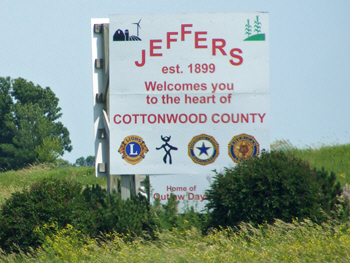 Welcome to Jeffers Minnesota