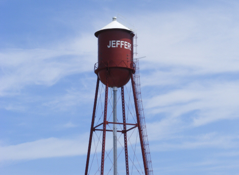 Water tower, Jeffers Minnesota, 2014