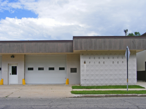 Fire Department, Kerkhoven Minnesota, 2014