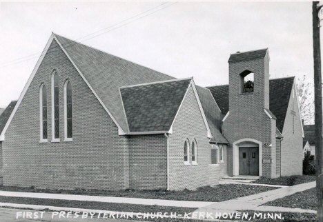First Presbyterian Church, Kerkhoven Minnesota, 1950's