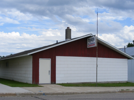 American Legion Post, Kerkhoven Minnesota, 2014