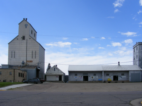 Grain elevator and feed mill, Kerkhoven Minnesota, 2014