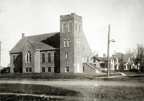 Norwegian Lutheran Church, Kerkhoven Minnesota, 1915