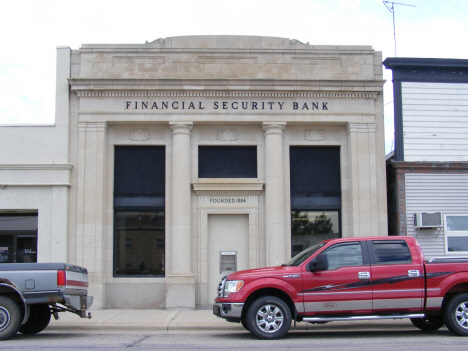 Financial Security Bank, Kerkhoven Minnesota, 2014