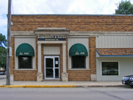 Kerkhoven and Hayes Insurance Company, Kerkhoven Minnesota