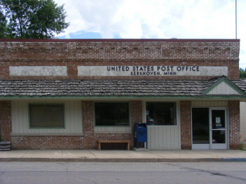 US Post Office, Kerkhoven Minnesota