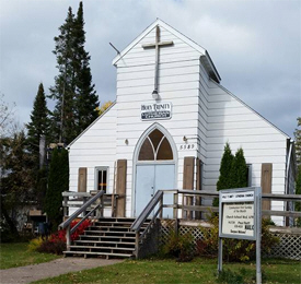 Holy Trinity Lutheran Church, Kettle River Minnesota