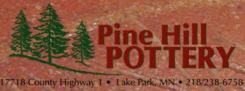 Pine Hill Pottery, Lake Park Minnesota