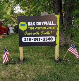 B & G Drywall LLC, Lake Park Minnesota