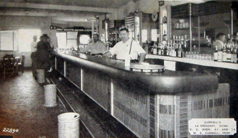 Carroll's Bar, La Crescent Minnesota, 1942