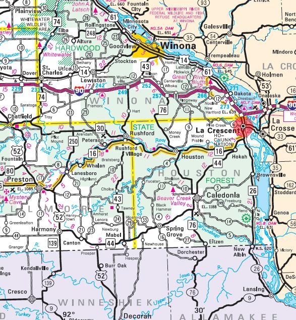 Guide to La Crescent Minnesota