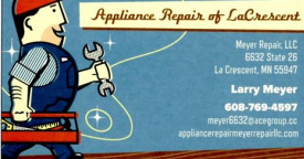 Appliance Repair of La Crescent