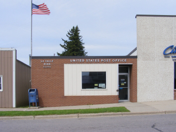 US Post Office, La Salle Minnesota