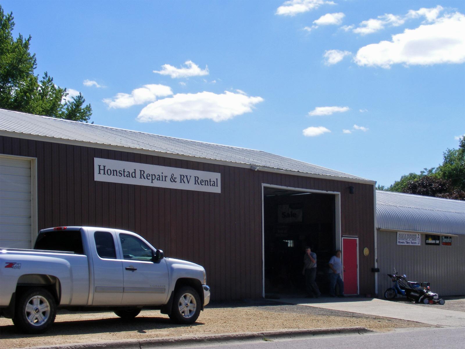 ... Honstad Repair and RV Rentals, Lake Crystal Minnesota