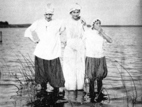 BATHING IN LAKE WILSON IN in 1910