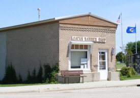 Jack's Barber Shop, Lake Wilson Minnesota
