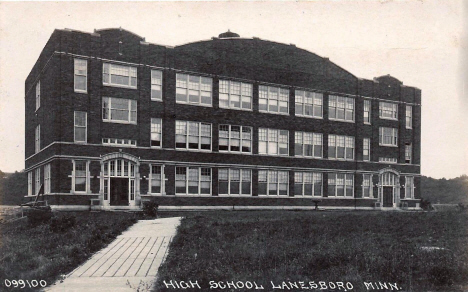 High School, Lanesboro Minnesota, 1921
