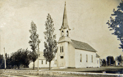 German Lutheran Church, Lester Prairie Minnesota, 1910's