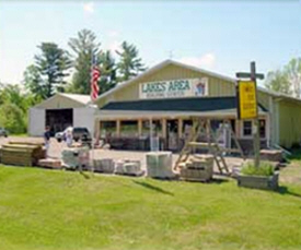 Lakes Area Building Center, Longville Minnesota
