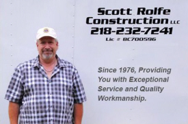 Scott Rolfe Construction, Longville Minnesota