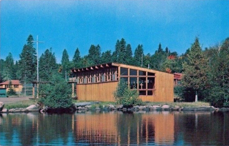 Linner Chapel at Cathedral of the Pines Camp on Caribou Lake, Lutsen Minnesota, 1960's